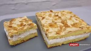 این کیک ساده و سریع را کنار چای سرو کنید