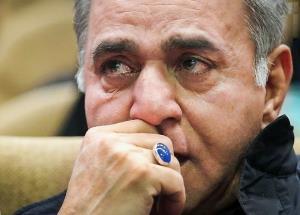 اشک و غصه آقای «آشپزباشی» بخاطر جدایی از همسرش