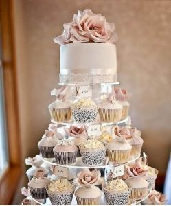 آموزش تزئین جالب کیک با تم کاپ کیک