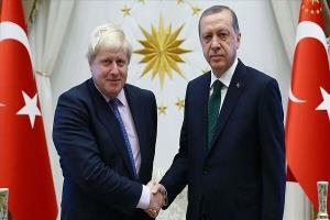 اردوغان و جانسون گفتگو کردند