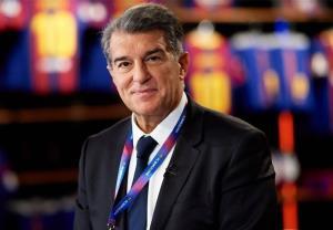 اعلام پیروزی لاپورتا در انتخابات بارسلونا