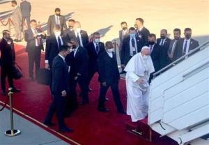 پایان سفر سه روزه پاپ به عراق با بدرقه برهم صالح