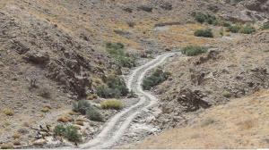 ساماندهی صعبالعبورترین راه روستایی در قلعه گنج