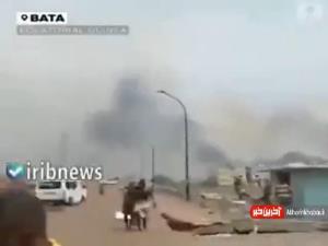 تصاویری از انفجار دیروز در گینه استوایی