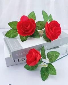 ترفند عالی برای درست کردن گل رز خلاقانه
