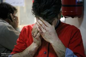 پیک مراجعه به بیمارستانها در چهارشنبه سوری چه ساعتی است؟