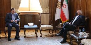 دیدار رئیس فدراسیون فوتبال با ظریف