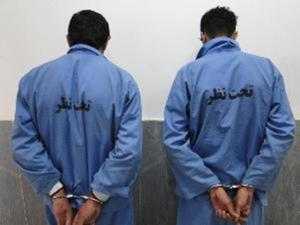 دستگیری سارقان کابلهای مخابرات
