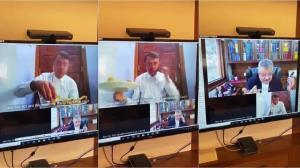 اقدام عجیب وکیل در جلسه مجازی دادگاه!