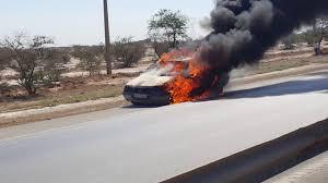 اهمیت داشتن یک کپسول آتش نشانی در خودرو را مشاهده کنید