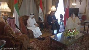 تلاش کویت برای برگزاری نشست سه جانبه میان قطر، امارات و مصر