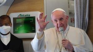 پاپ: آیتالله سیستانی گفت ۱۰ سال است با افراد سیاسی دیدار نمیکند