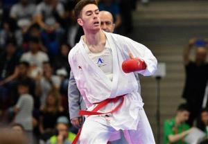 لیگ جهانی کاراته/ آسیابری به دیدار ردهبندی راه یافت