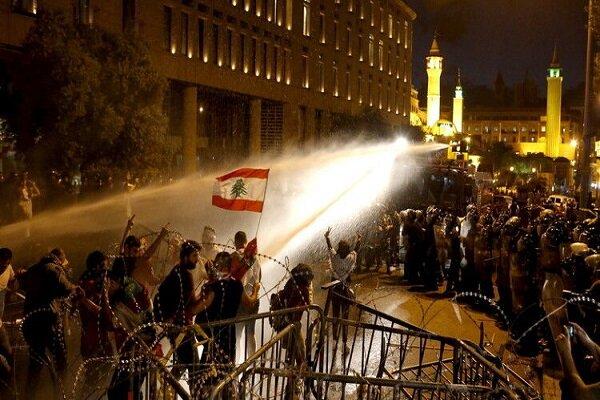 ناآرامیها به اطراف پارلمان لبنان بازگشت