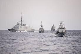 رزمایش دریایی رژیم صهیونیستی با قبرس و یونان