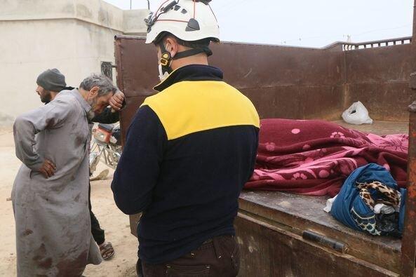 کشته شدن یک زن و کودک در حومه شرقی حلب