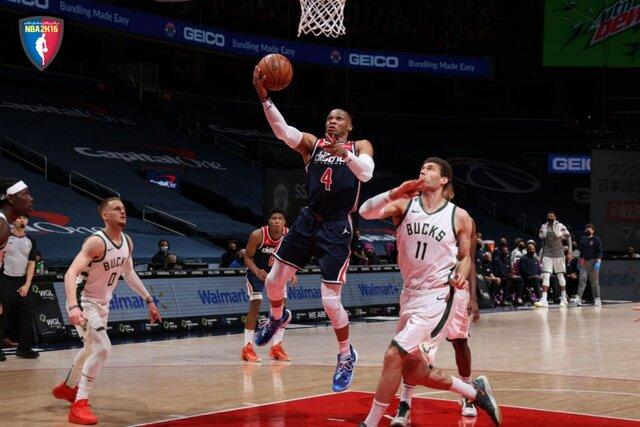 رکورد تاریخی وستبروک در NBA