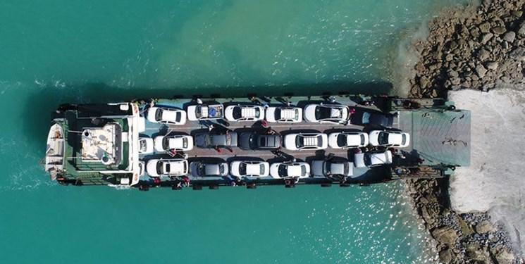 هزینه رفت و آمد ماشینی قشموندان به جزیره کاهش یافت