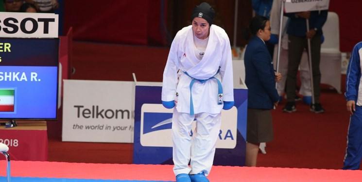 رزیتا علیپور به مدال نقره بسنده کرد