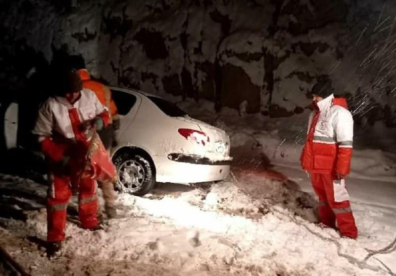 روایتی تلخ از فوت ۳ سرنشین خودروی گرفتار در برف و کولاک