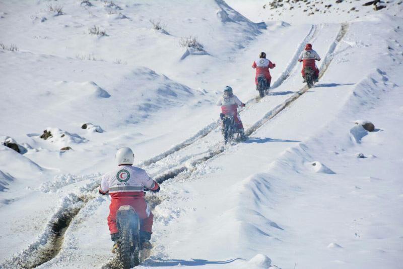 ۵ چوپان در قوچان گرفتار برف وکولاک شدند
