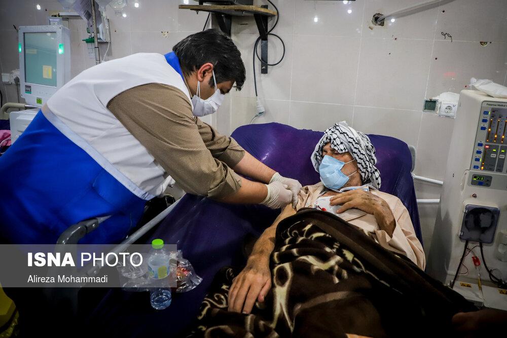 واکسیناسیون کرونا برای بیماران دیالیزی خوزستان