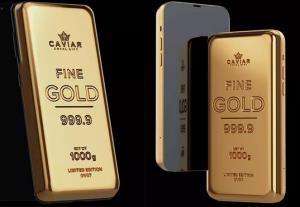 ساخته شدن آیفون 12 پرو و گلکسی اس 21 اولترا با یک کیلوگرم طلا!