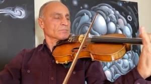 تکنوازی سریع و جذاب با ساز ویولن