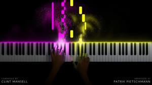 اجرای قطعه «Lux Aeterna» با پیانو و ترکیب جذابی از نور