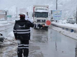 ممنوعیت تردد خودروهای سنگین در محورهای خراسان شمالی