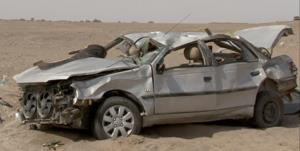 واژگونی ۲ خودرو در محورهای سمنان ۵ مصدوم برجای گذاشت