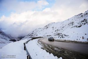 ارتفاعات البرز برفی میشود