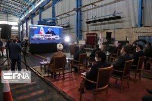 طرح توسعه فولاد اسفراین با دستور رییس جمهوری افتتاح شد