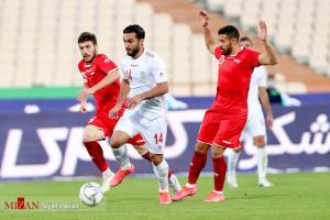 سایهروشن دیدار تدارکاتی تیم ملی ایران