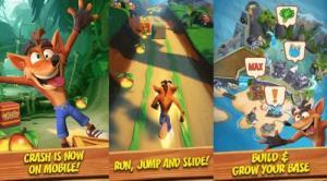 بازی Crash Bandicoot: On the Run در دسترس قرار گرفت