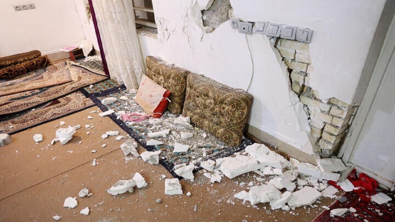 زلزله کردستان سبب ترک خوردن دیوار منازل شد؛ خسارت جانی گزارش نشده است