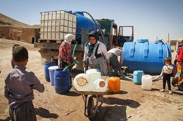 روستایی در همدان که اهالیاش فقط روزی ۲ ساعت آب شرب دارند