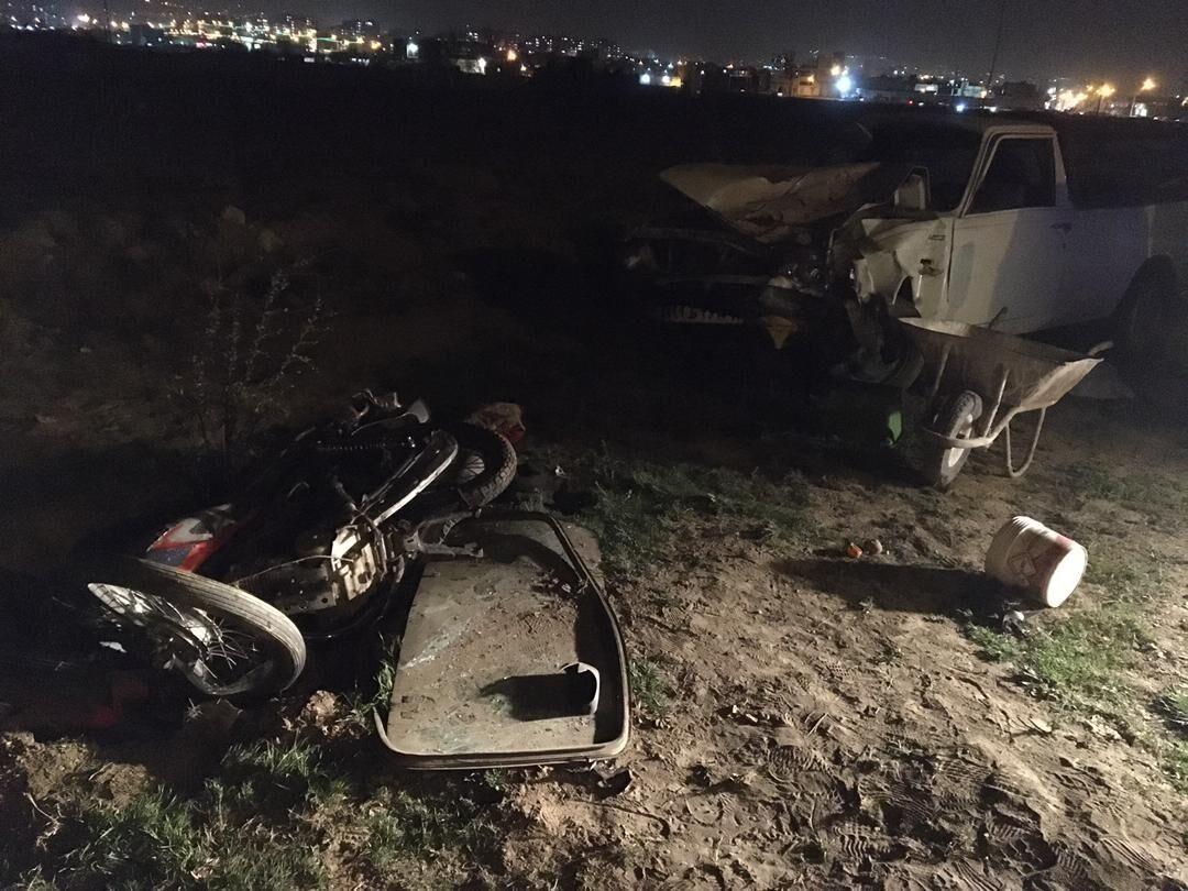 تصادف در شهر حاجیآباد زیرکوه ۲ کشته برجا گذاشت
