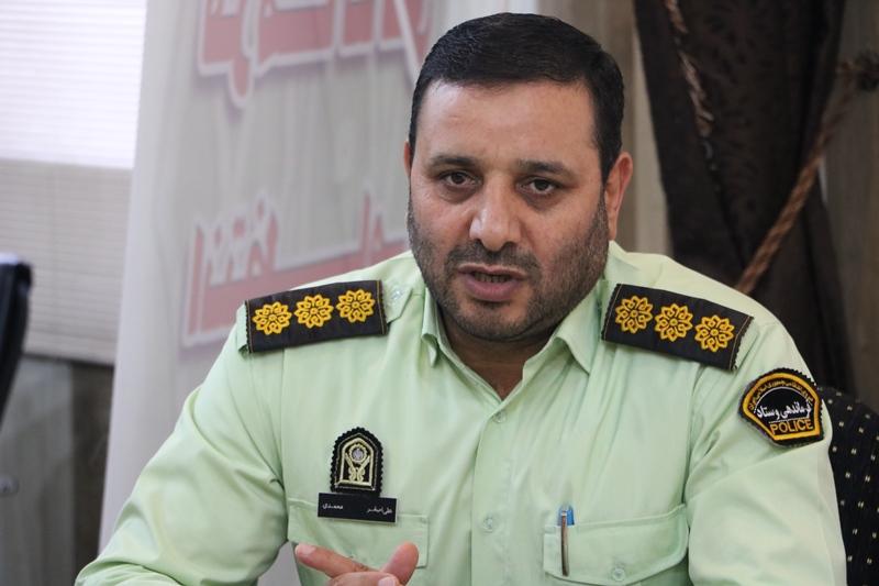 دستگیری سارق و کشف ۲۵ فقره سرقت در آرانوبیدگل