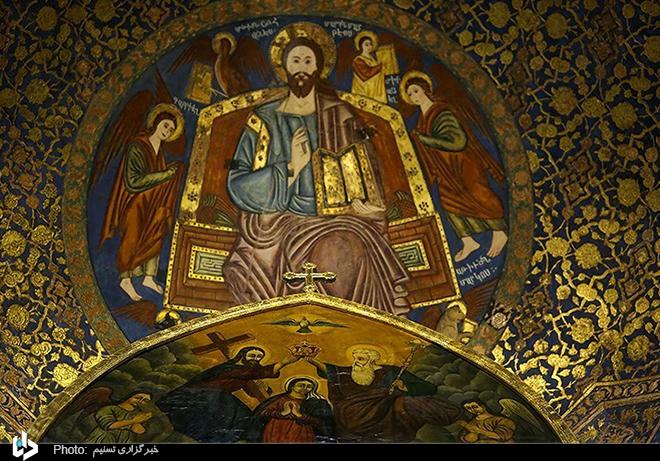 عکس/ کلیسای بیت لِحِم- اصفهان