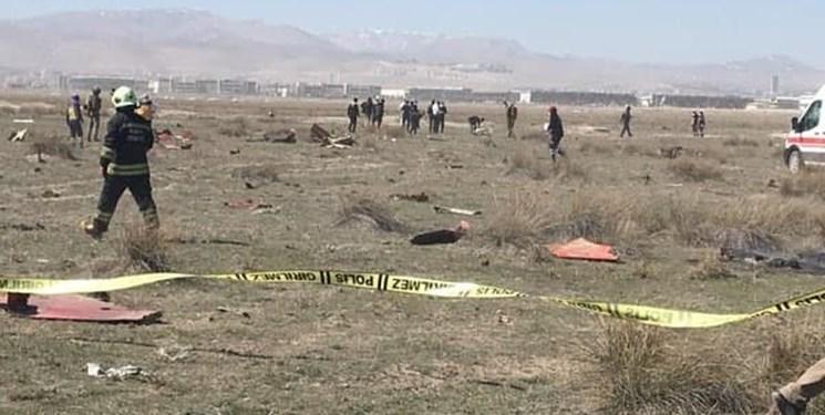 سقوط هواپیمای نظامی ترکیه؛ خلبان کشته شد