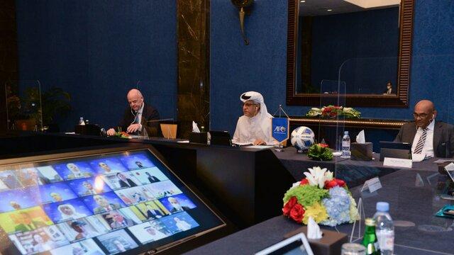 تشکر شیخ سلمان از کشورهایی که میزبانی را قبول کردند