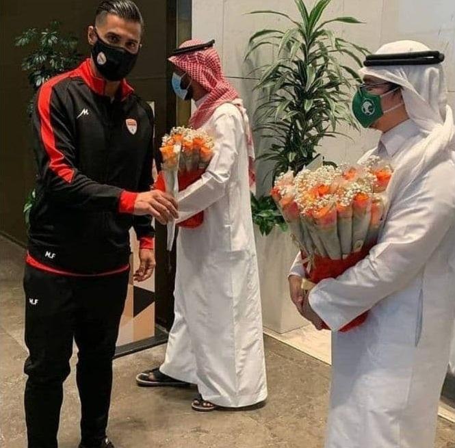 تشکر ویژه آذری از میزبانی عربستانیها
