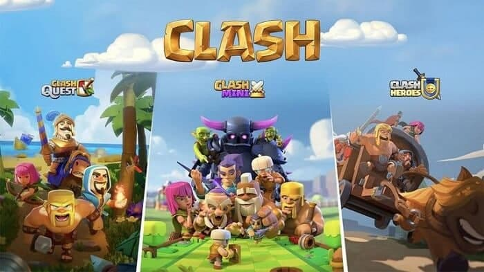 رونمایی از سه بازی جدید از دنیای Clash of Clans