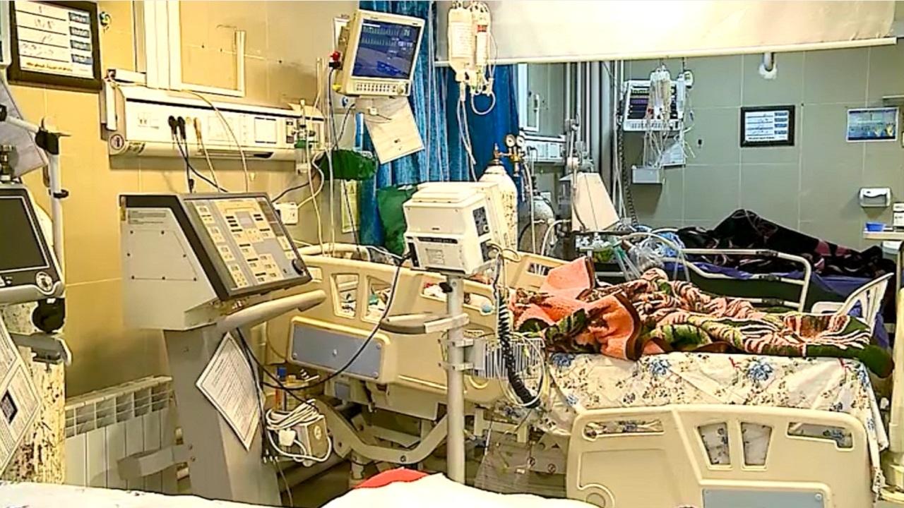 کرونا و پر شدن سریع تختهای بیمارستانی مرکزی