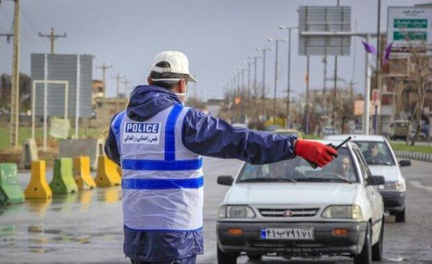 جریمه ۲۵۹۱ خودرو ناقض قانون در زنجان
