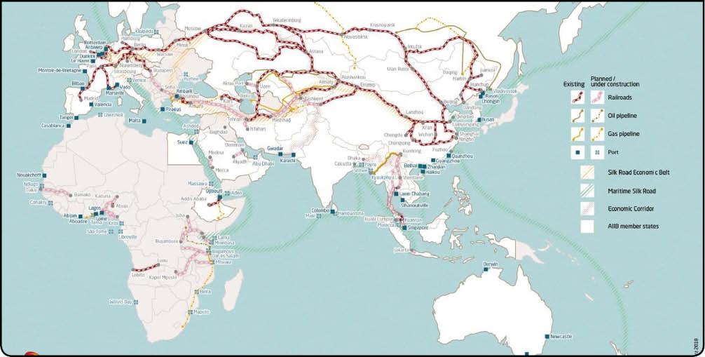 جهان و قراردادهای چینی