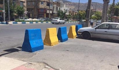 ۴ خیابان اصلی مهاباد مسدود شد
