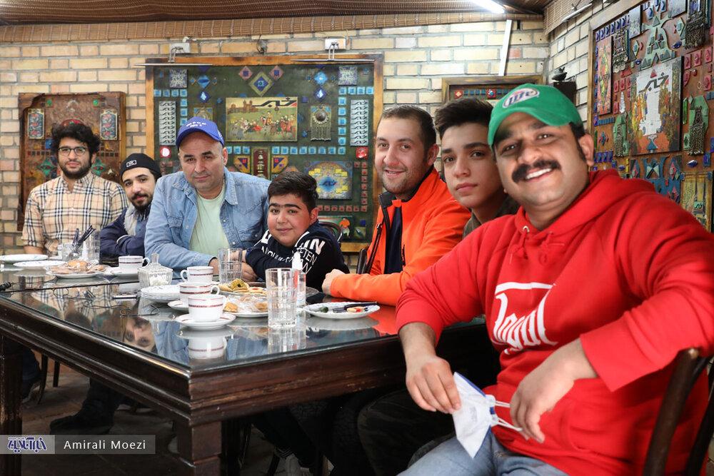 جواد خواجوی و علی مشهدی و رفقا