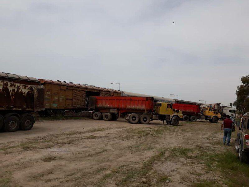 صادرات ریلی سیمان از بندرترکمن آغاز شد